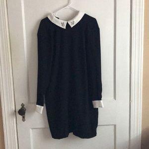 Victoria Beckham for Target Black Babydoll Dress M